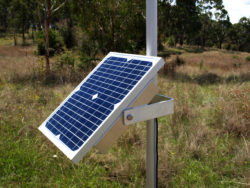 SPPM2: Solar Panel Pole Mount - Panel not included
