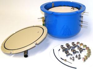 Extractor 5 BAR Ceramic Plates