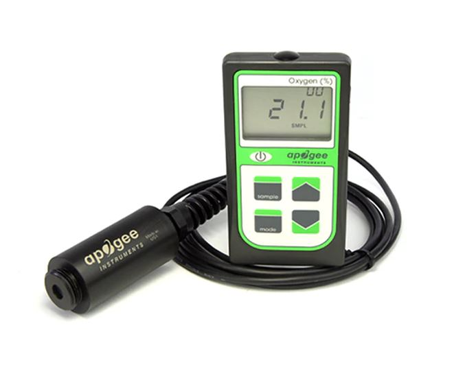 Apogee MO-200: Portable Oxygen Sensor with Handheld Meter
